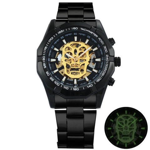 Steampunk Skull Watch - EnhancedUniverse
