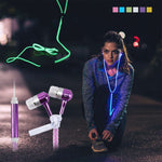 FREE Zip Up Glow In The Dark Earbuds - EnhancedUniverse