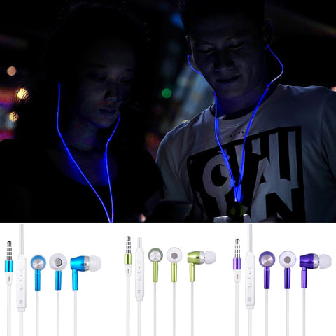 FREE Luminous Earbuds with built in Mic - EnhancedUniverse