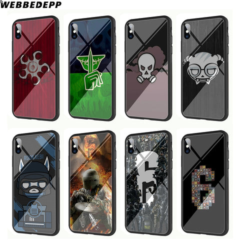 Siege Tempered Glass Phone Case for Apple iPhones - EnhancedUniverse