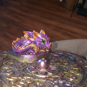 Purple and Blue Dragon Burner