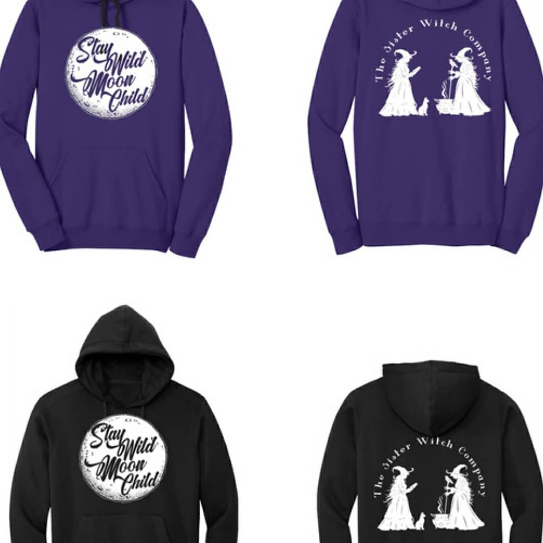 Sister Witch Swag   Hoodies for Adults