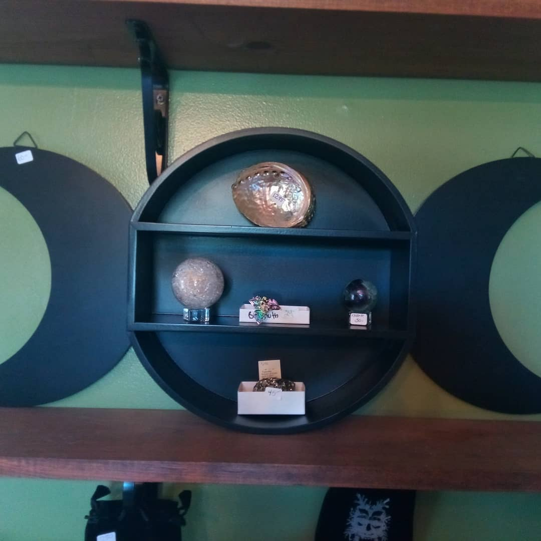 Triple Moon Shelf