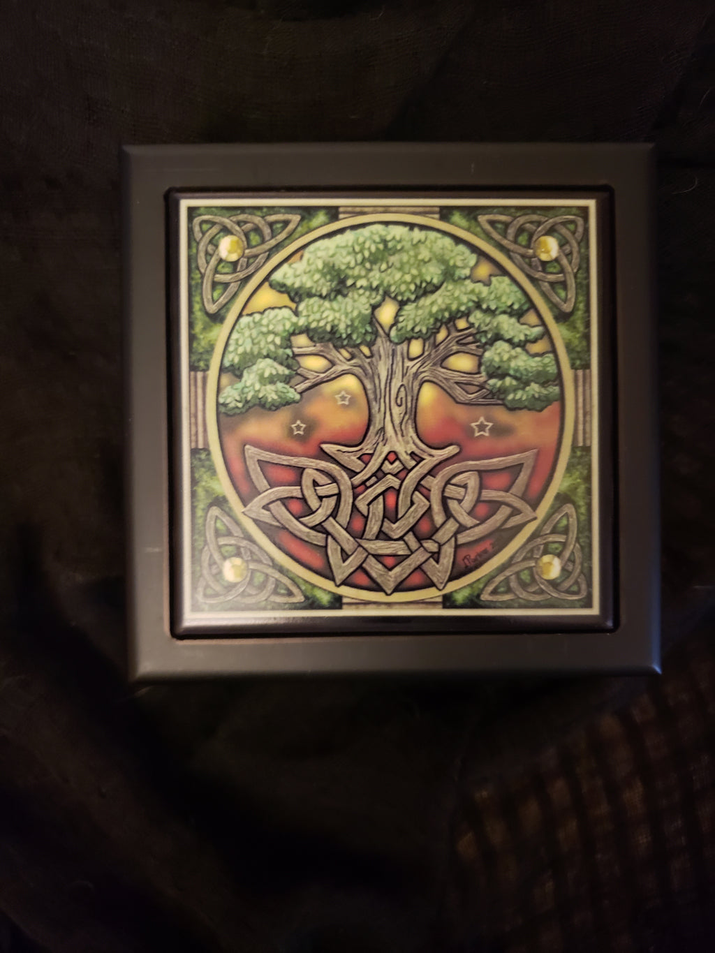 Tree of Life Tile Box
