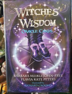 Witches' Wisdom Oracle Card Deck