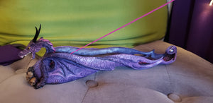 Purple Dragon Incense Burner