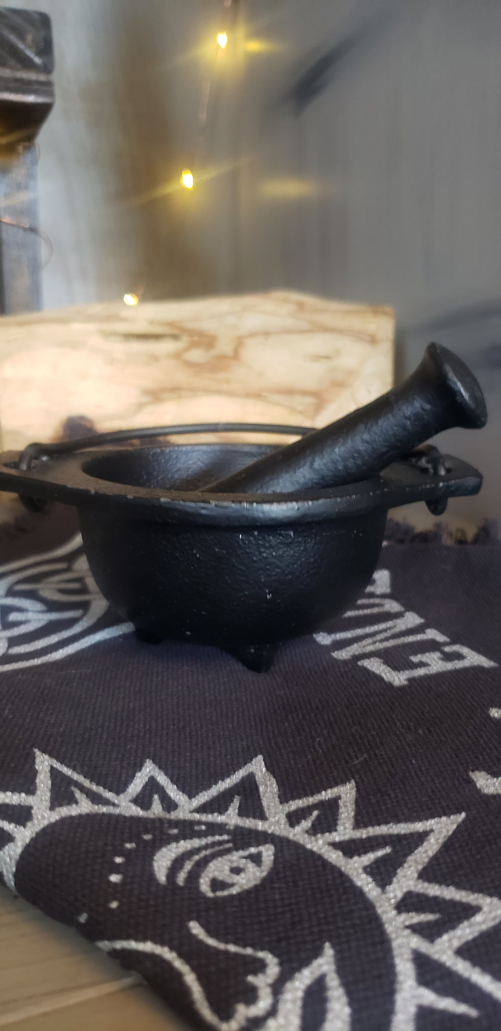 Mortar and Pastel Cauldron