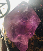 Large Pointed Amethyst Skull