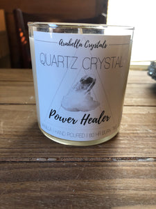 Hand Poured Hidden Crystal Candles