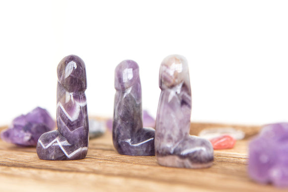 Crystal Phallus FAQ - Whats with the dicks?
