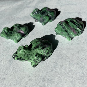 Ruby Zoisite Frog