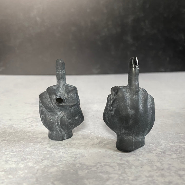 "Obsidian ""Fuck Off"" Middle Finger"
