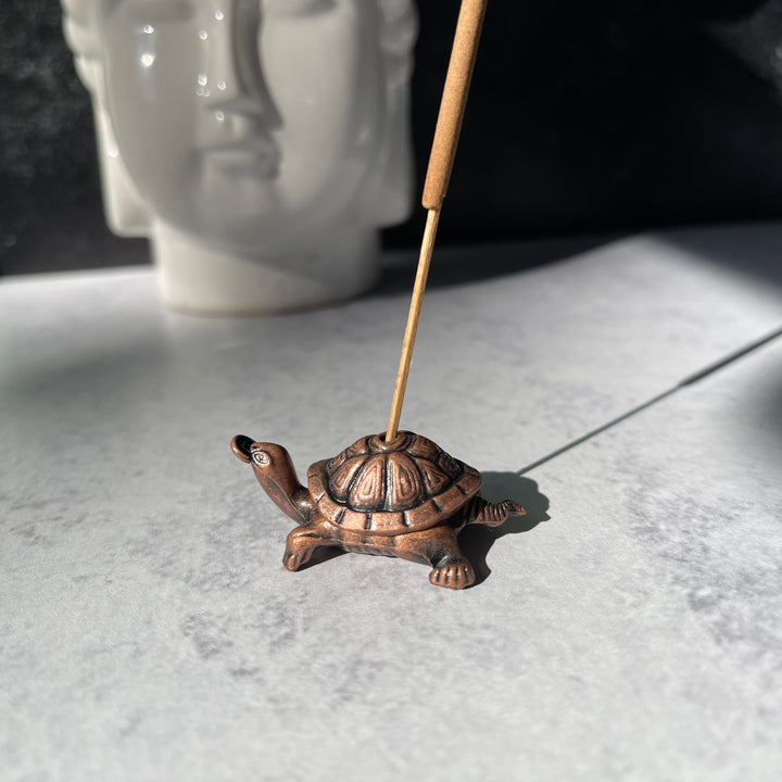 Money Turtle Incense Holder