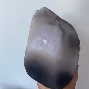 Large Crocodile Amethyst Agate