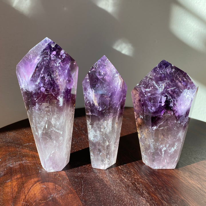 Polished Amethyst Root
