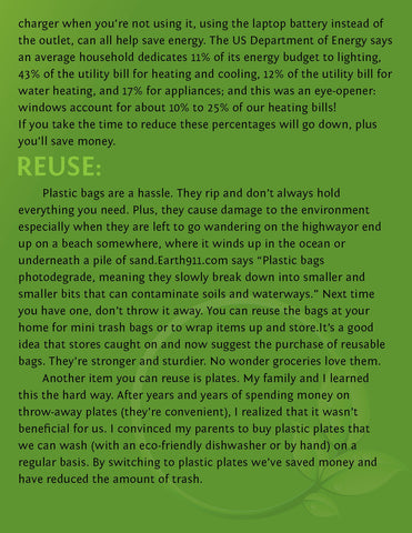 Chica Beauty Environmentally Friendly Tips