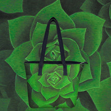 Load image into Gallery viewer, Emerald Succulent Handbag