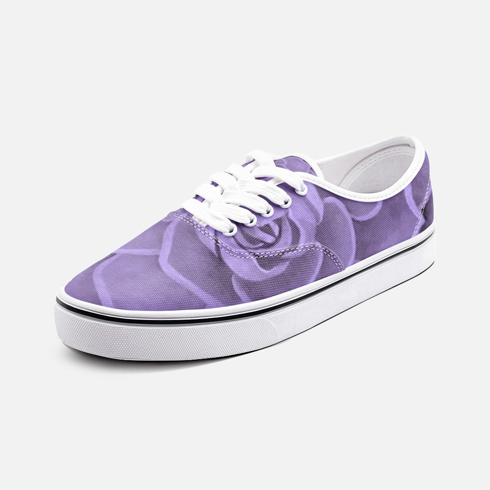 Purple Succulent Loafer Sneakers