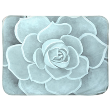 Load image into Gallery viewer, Seafoam Succulent Infant Sherpa Blanket