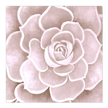 Load image into Gallery viewer, Blush Succulent Canvas Artwork