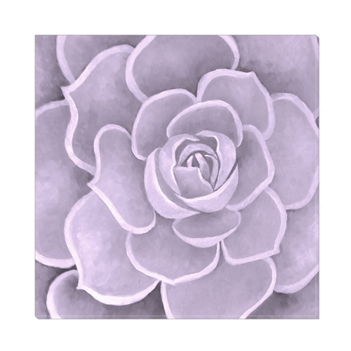 Lilac Succulent CanvasArtwork