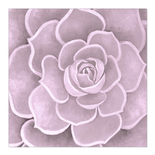 Load image into Gallery viewer, Pink Succulent Canvas Artwork