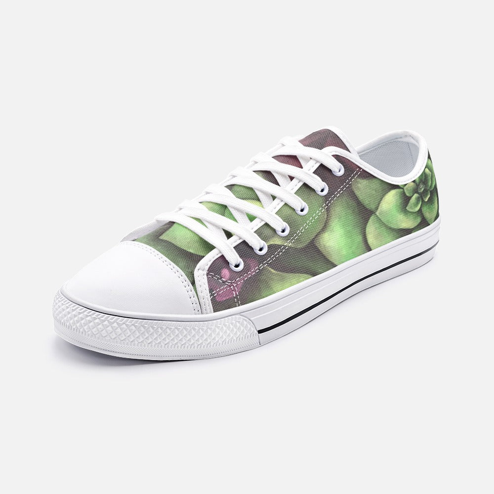 Succulent Low Top Canvas Shoes