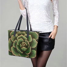 Load image into Gallery viewer, Olive Succulent Handbag
