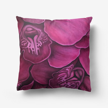 Load image into Gallery viewer, Fuchsia Orchid Throw Pillow