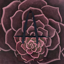 Load image into Gallery viewer, Crimson Succulent Handbag