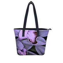 Load image into Gallery viewer, Lavender Orchid Handbag