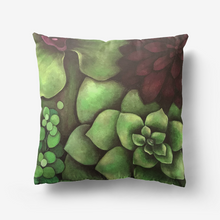 Load image into Gallery viewer, Succulent Garden Throw Pillow