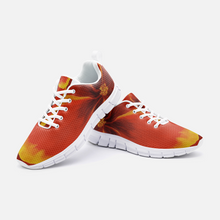 Load image into Gallery viewer, Red Hibiscus Athletic Sneakers