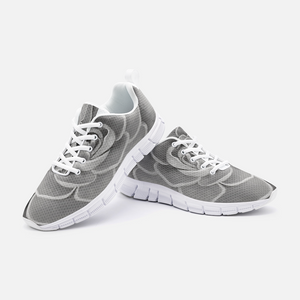 Grey Succulent Athletic Sneakers