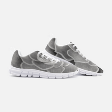 Load image into Gallery viewer, Grey Succulent Athletic Sneakers