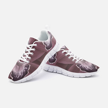 Load image into Gallery viewer, Blush Orchid Unisex Athletic Sneakers