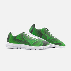 Emerald Succulent Athletic Sneakers