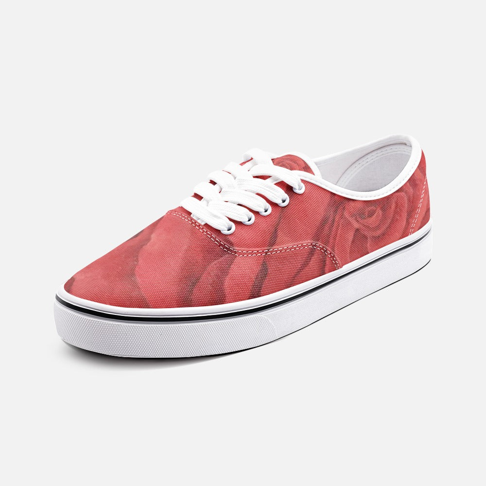 Red Rose Loafer Sneakers