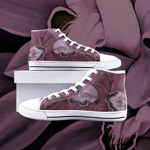 Blush Orchid High Top Canvas Shoes
