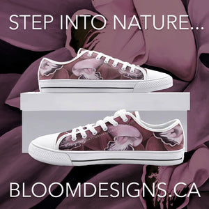Blush Orchid Low Top Canvas Shoes