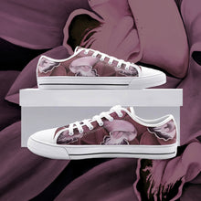 Load image into Gallery viewer, Blush Orchid Low Top Canvas Shoes