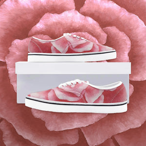 Coral Rose Loafer Sneakers