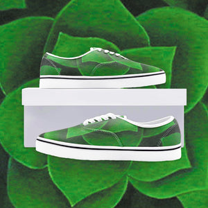 Emerald Succulent Loafer Sneakers