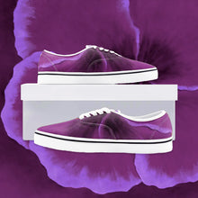 Load image into Gallery viewer, Fuchsia Hibiscus Loafer Sneakers