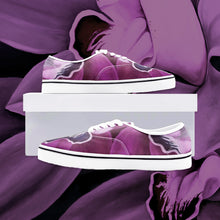 Load image into Gallery viewer, Fuchsia Orchid Loafer Sneakers