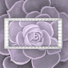 Load image into Gallery viewer, Lilac Succulent Crib Sheets