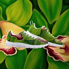 Load image into Gallery viewer, Lime Orchid Athletic Sneakers