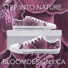 Load image into Gallery viewer, Mauve Orchid Low Top Canvas Shoes