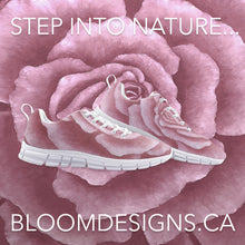 Load image into Gallery viewer, Pink Rose Athletic Sneakers