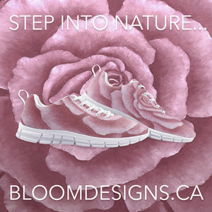 Pink Rose Athletic Sneakers